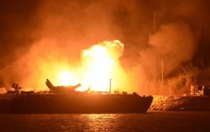 Fuel Barge Explosion